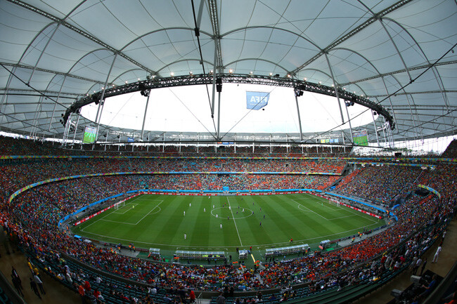 Spain v Netherlands: Group B - 2014 FIFA World Cup Brazil