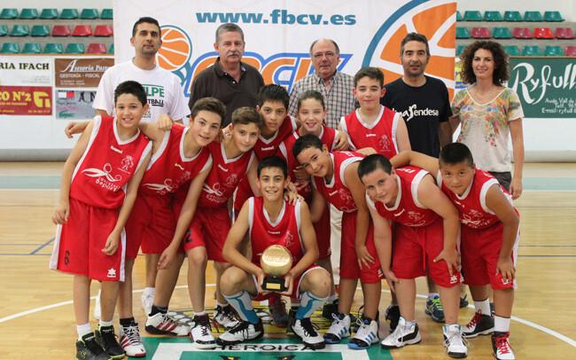 Alevin Masculino Preferente. Campeon - C.B. El Pinos