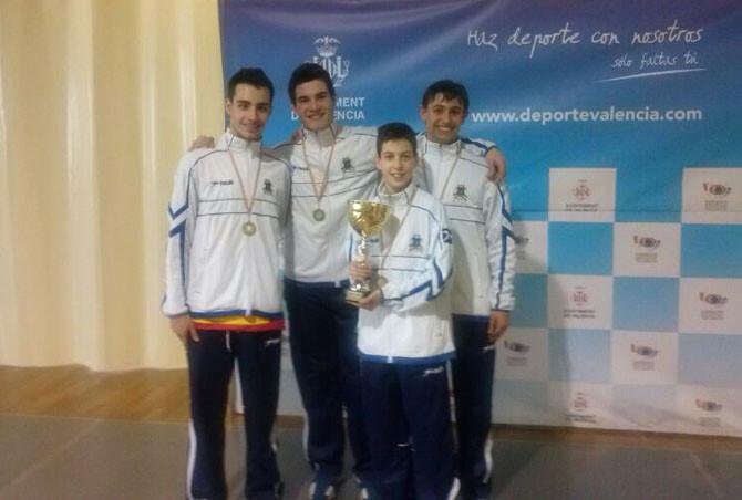 Campeones Autonomicos Junior Equipos
