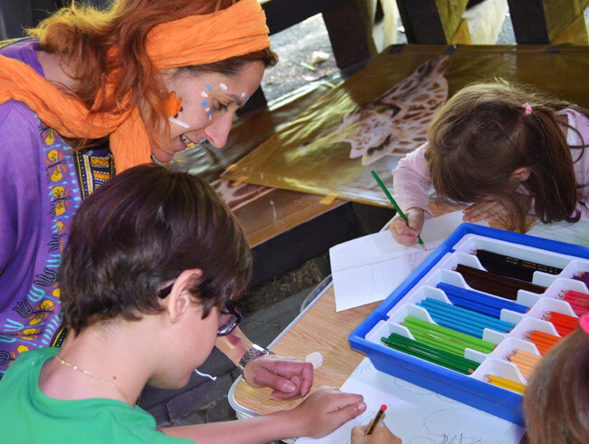 Concurso de dibujo infantil - Bioparc Valencia - primavera 2013 (1)