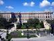 El Palacio Real visto desde la Plaza de Oriente