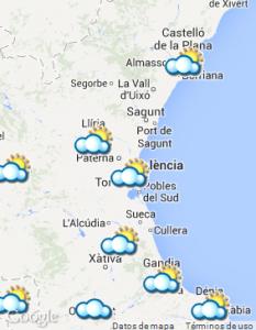 El tiempo en València Valencia   RTVE.es