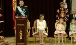 Imágenes del Juramento y Proclamación de su Majestad el Rey Don Felipe VI ante las Cortes Generales 1 (2)
