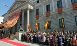 Imágenes del Juramento y Proclamación de su Majestad el Rey Don Felipe VI ante las Cortes Generales 1 (32)