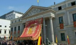 Imágenes del Juramento y Proclamación de su Majestad el Rey Don Felipe VI ante las Cortes Generales 1 (42)