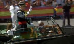Imágenes del Juramento y Proclamación de su Majestad el Rey Don Felipe VI ante las Cortes Generales 1 (70)