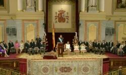 Imágenes del Juramento y Proclamación de su Majestad el Rey Don Felipe VI ante las Cortes Generales 1 (9)