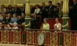 Imágenes del Juramento y Proclamación de su Majestad el Rey Don Felipe VI ante las Cortes Generales 1