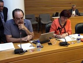 Javier Macho en comision