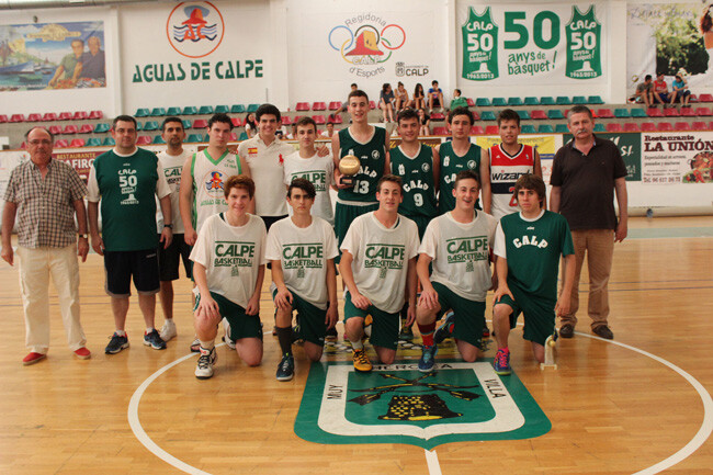 Junior Masculino Zonal. Campeon - C.B. Ifach Calpe