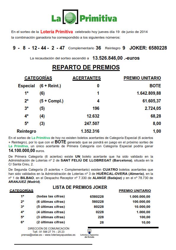 NOTA_DE_PRENSA_DE_LA_PRIMITIVA_DEL_JUEVES _19_06_14 (1)_001