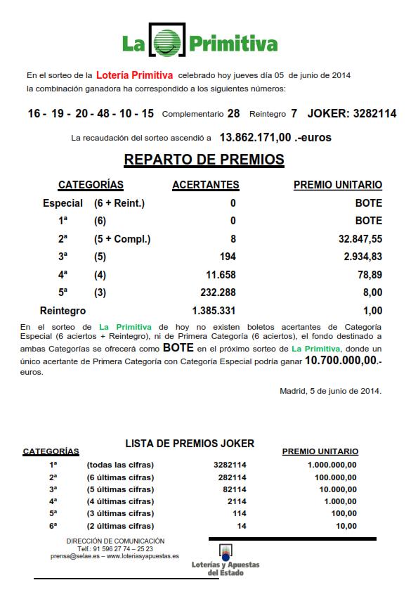 NOTA_DE_PRENSA_DE_LA_PRIMITIVA_DEL_JUEVES _5_06_14_001