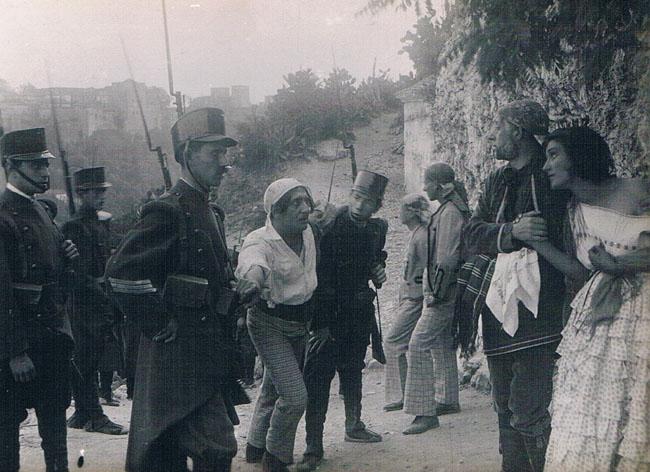 Película La alegría del batallón. 1924