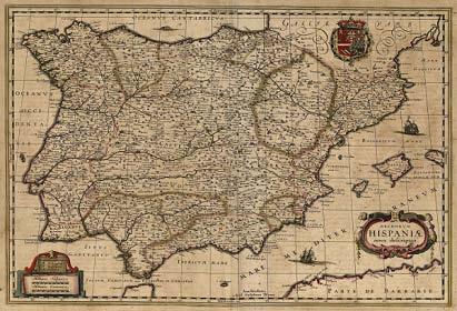 Regnorum Hispaniae nova descriptio 1631 Willem Blaeu