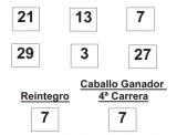 Resultado de las carreras de Quíntuple Plus de fecha viernes día 06 de junio de 2014