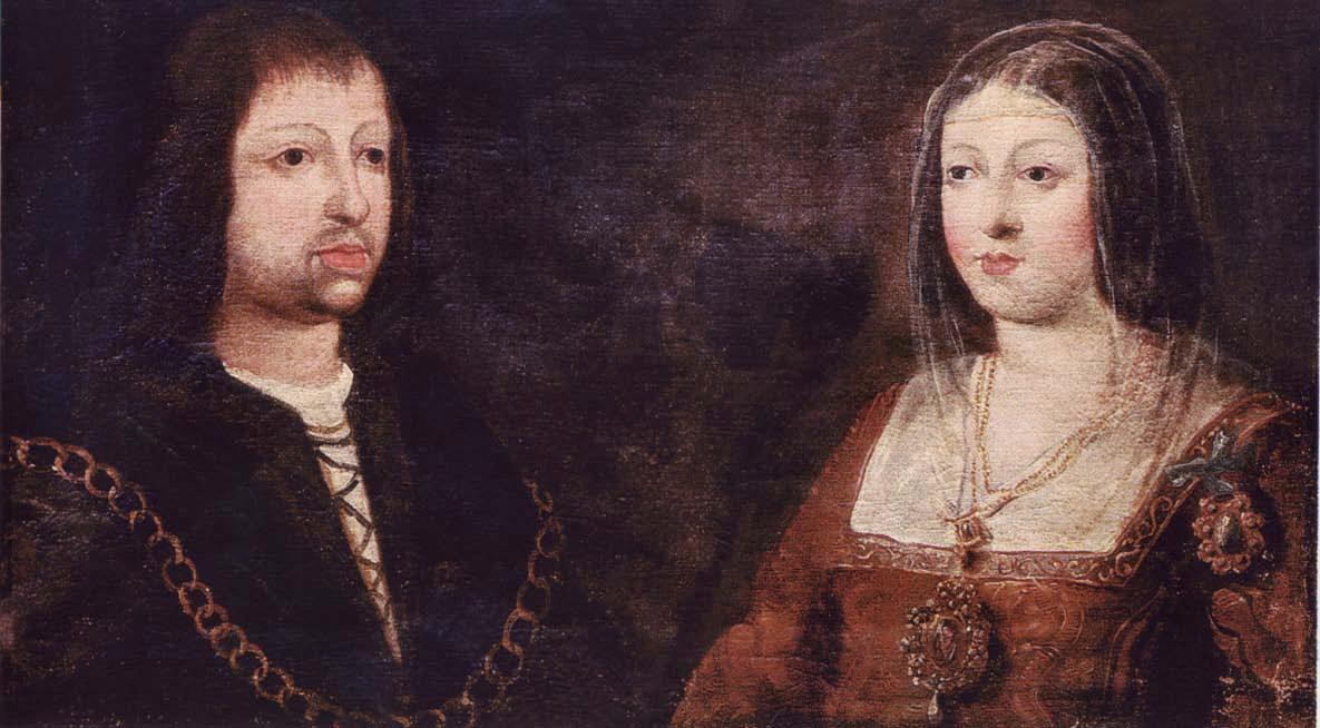Retrato de boda de los Reyes Católicos. Anónimo, siglo XV