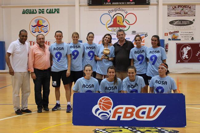 Senior Femenino Especial. Campeon - C.B.F. Cabo Mar