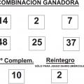Sorteo de la BonoLoto celebrado hoy miércoles día 04 de junio de 2014