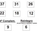 Sorteo de la  BonoLoto celebrado hoy viernes día 06 de junio de 2014