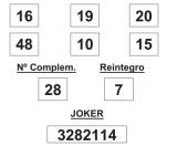 Sorteo de la Lotería Primitiva celebrado hoy jueves día 05 de junio de 2014