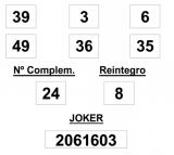 Sorteo de la Lotería Primitiva del sábado día 21 de junio de 2014