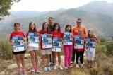 Xiquetes de Vall de Laguar, amb l´alcalde i tècnic esports de la localitat