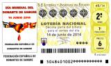 boleto Sorteo de Lotería Nacional  14 de junio de 2014