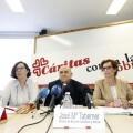 R. P prensa de Caritas por el día de la Caridad  (Foto: AVAN // Alberto Sáiz)