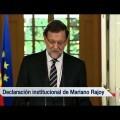 El rey don Juan Carlos ha decidido abdicar en su hijo el príncipe Felipe (Vídeo)