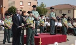 entrega de despachos y diplomas a las nuevas promociones de Suboficiales y de Guardias Civiles (4)