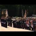 Rajoy preside en el Cuartel El Rey el acto de jura de bandera de personal civil
