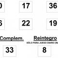 sorteo de la BonoLoto celebrado el martes día 17 de junio de 2014