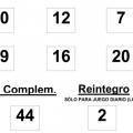 sorteo de  la BonoLoto celebrado hoy lunes día 23 de junio de 2014
