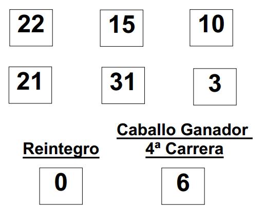 sorteo de la Lototurf celebrado hoy domingo día 29 de junio de 2014 COMBINACION_GANADORA_LOTOTURF_29_06_14.pdf