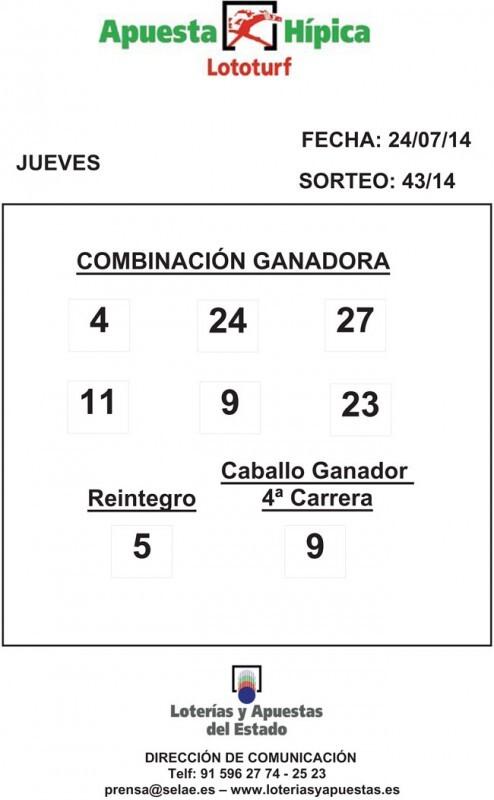 COMBINACION_GANADORA_LOTOTURF_24_07_14
