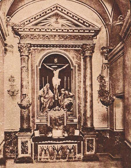 Capilla del Cristo de los Ajusticiados. Ca. 1920. A. P. R. S.