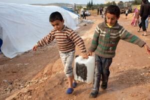 Desplazados por el conflicto en Siria Foto Jodi Hilton IRIN