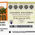 Sorteo de la Lotería Nacional del día 19 de julio