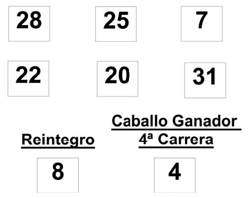 Sorteo de la Lototurf celebrado hoy jueves día 03 de julio de 2014COMBINACION_GANADORA_LOTOTURF_03_07_14.pdf