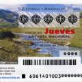 Sorteo del jueves 31 de julio de 2014 de lotería nacional