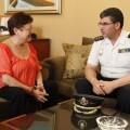 Visita comisario jefe provincial