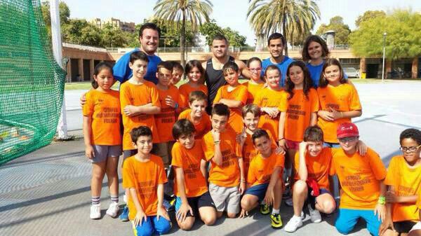 david-casinos-con-equipo-naranja-campus-la-petxina-2014