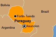 map-of-paraguay