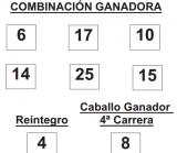 sorteo de la Lototurf celebrado hoy domingo día 13 de julio de 2014    COMBINACION_GANADORA_LOTOTURF_13_07_14.pdf