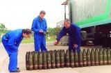 Inspectores de armas químicas Foto de archivo: OPCW