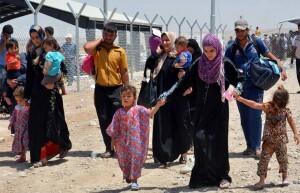 Desplazados por la violencia en Mosul, Iraq Foto: ACNUR/Inge Colijn