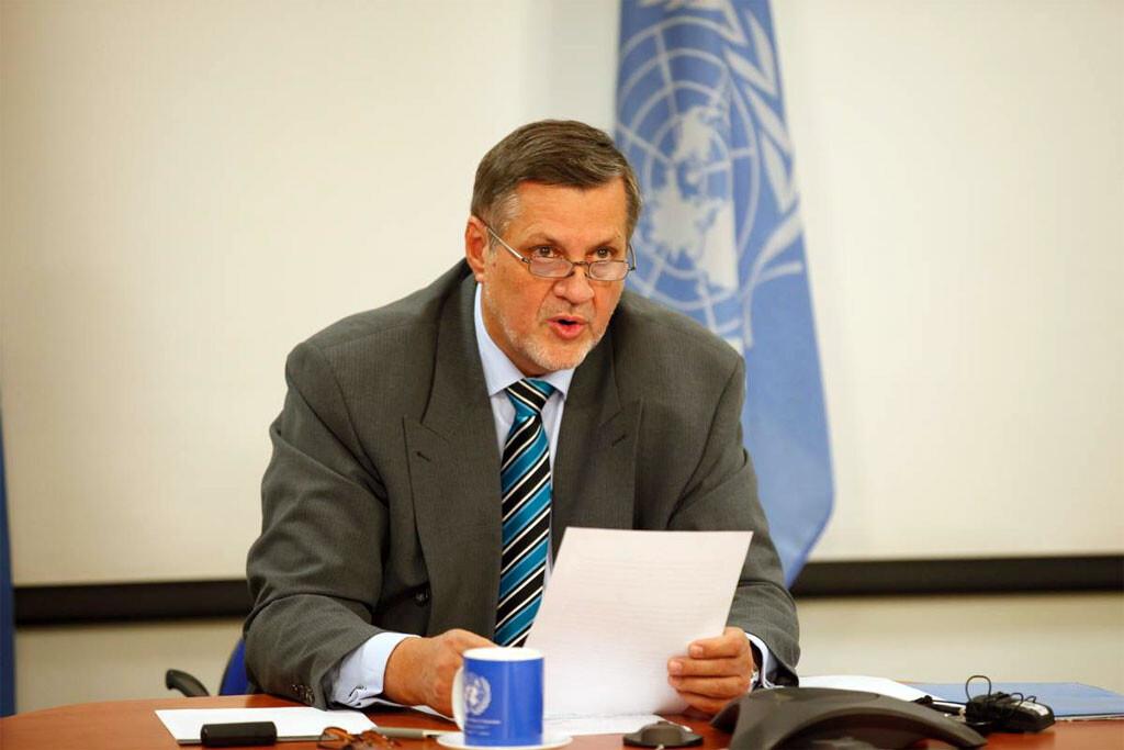Ján Kubiš, representante especial del Secretario General y jefe de la Misión de Asistencia de la ONU en Afganistán (UNAMA), Foto: Fardin Waezi/UNAMA