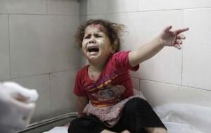 Niña palestina en Gaza. Foto: UNICEF-Eyad El Baba