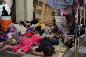 Refugiados de la comunidad Yezidi afectados por la violencia en Iraq Foto: ACNUR//N. Colt
