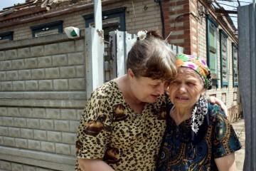 Afectados por la violencia en el este de Ucrania Foto:Photo: ACNUR/Iva Zimova